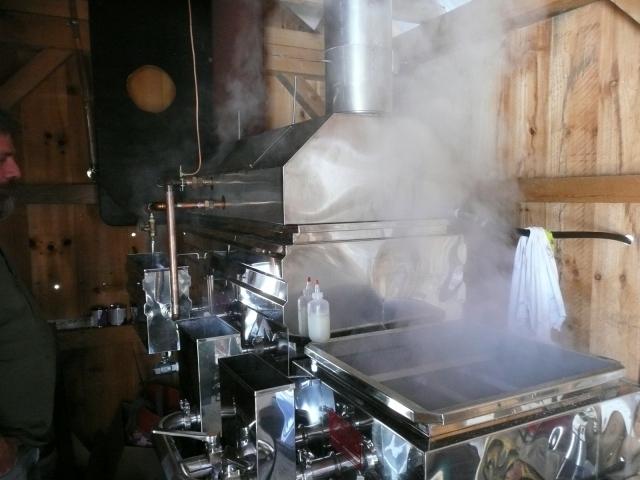 New Evaporator & Hood